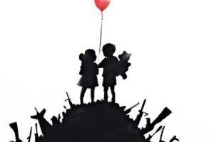 Dos cuadros que Banksy vendió por 45 euros se subastan por hasta 84.000 euros