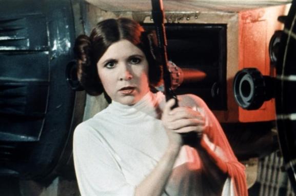 Carrie Fisher regresa a 'Star Wars'