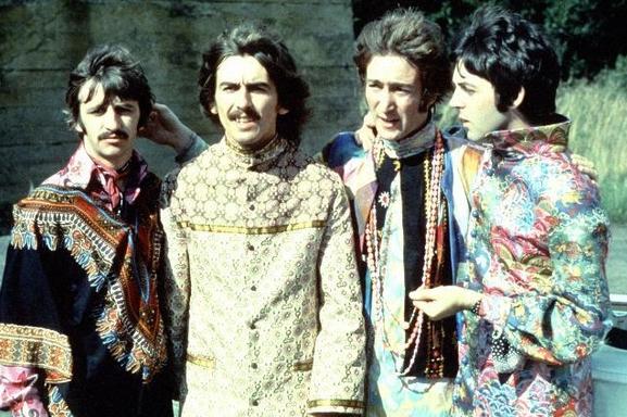 Beatles psicodélicos: disfraz, sitar y LSD