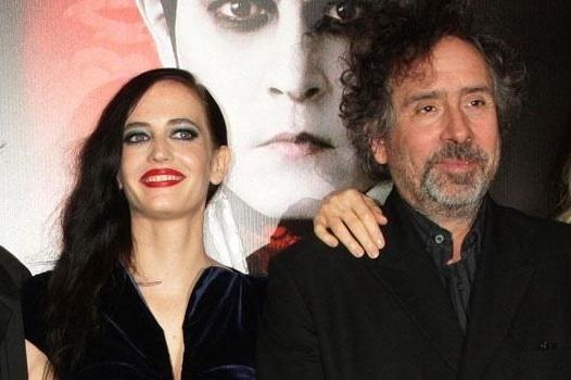 """Eva Green y TIm Burton juntos otra vez para """"El hogar de Miss Peregrine para niños peculiares"""""""