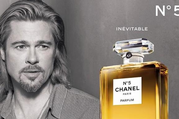 Brad Pitt es la nueva imagen de Chanel N° 5