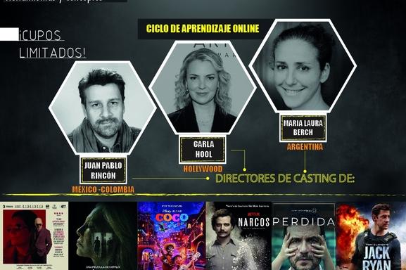 Participa por un curso a cargo de los más reconocidos directores de casting de Netflix, Disney y Amazon