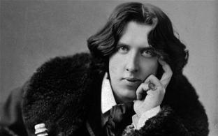 Hallan carta inédita de Oscar Wilde