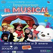 """Imaginarium, Its Musical"" llega al Teatro Compac Gran Vía"