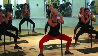 Clases de fitness inspiradas en « Cincuenta sombras de Grey »