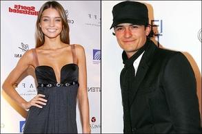 Orlando Bloom y Miranda Kerr casados