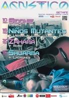 Sidonie, Niños Mutantes, Zhara y Shuarma en el Festival Agustico !