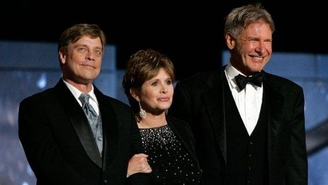 Harrison Ford, Carrie Fisher y Mark Harnill confirmados para Star Wars