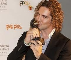 David Bisbal gana el premio Naranja