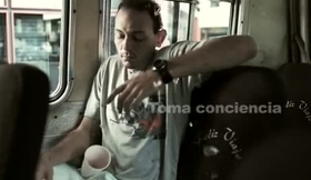Campaña de concientización social en Cines Unidos.