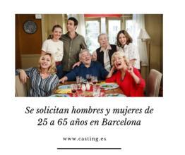 Se solicitan hombres y mujeres de 25 a 65 años en Barcelona