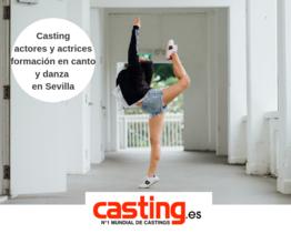 Se convoca actores y actrices en Sevilla