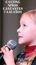 Casting niños cantantes 7 a 15 años