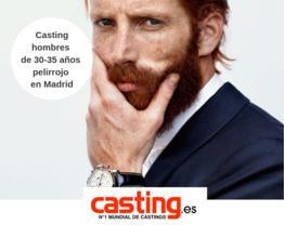 Precisamos hombres de 30-35 años pelirrojo en Madrid