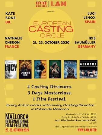 ¡Participa por una plaza en el workshop European Casting Circle de Mallorca!