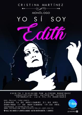 Consigue entradas para descubrir a la verdadera Edith Piaf en Madrid este fin de semana