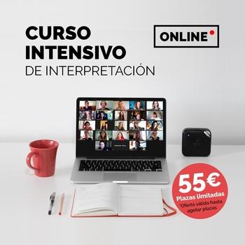 Participa del sorteo por un Curso Intensivo Online de Interpretación y Actuación