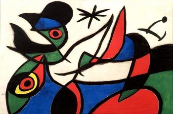 Portugal subasta 85 cuadros de Joan Miró