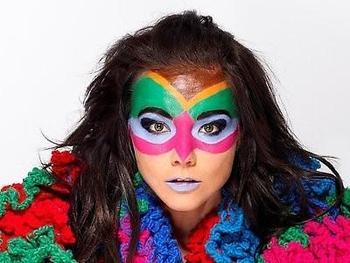Björk, en el MoMa de Nueva York