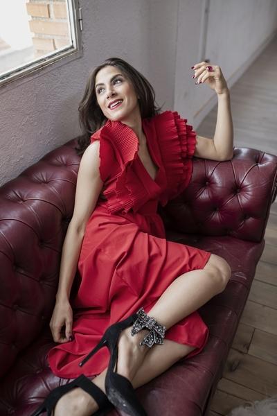 """Grace Quelas, actriz y bailarina: """"Me apasiona la búsqueda de la verdad a la hora de interpretar frente a cámara"""""""