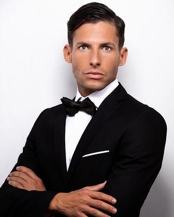 David, un modelo polifacético y apasionado por la moda