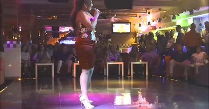 Rosa Spiteri estuvo en Fontana Disco Playa San Juan Alicante 27 julio 2018