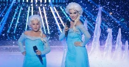 Roko y Carla cantan Let it go de Frozen en Tu cara me suena Mini