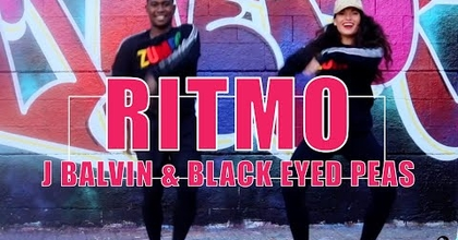 Ritmo The Black Eyed Peas&JBalvin coreografia zumba