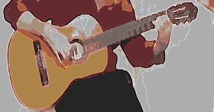 Casi un reto a los guitarristas clásicos...