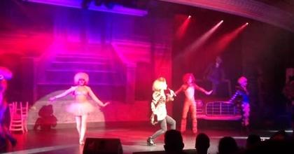 """Dream girls"" Cats show MSC Cruises"