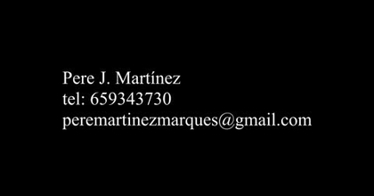 Pere J. Martínez. videobook2021 (provisional)