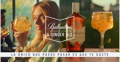Ballantine's & Ginger Ale