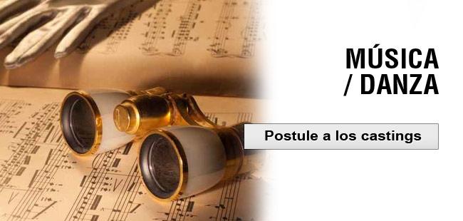 musica postule a los castings