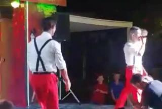 Performance Despacito in Rhodes, Greece